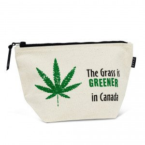 The Grass is Greener in Canada Pouch