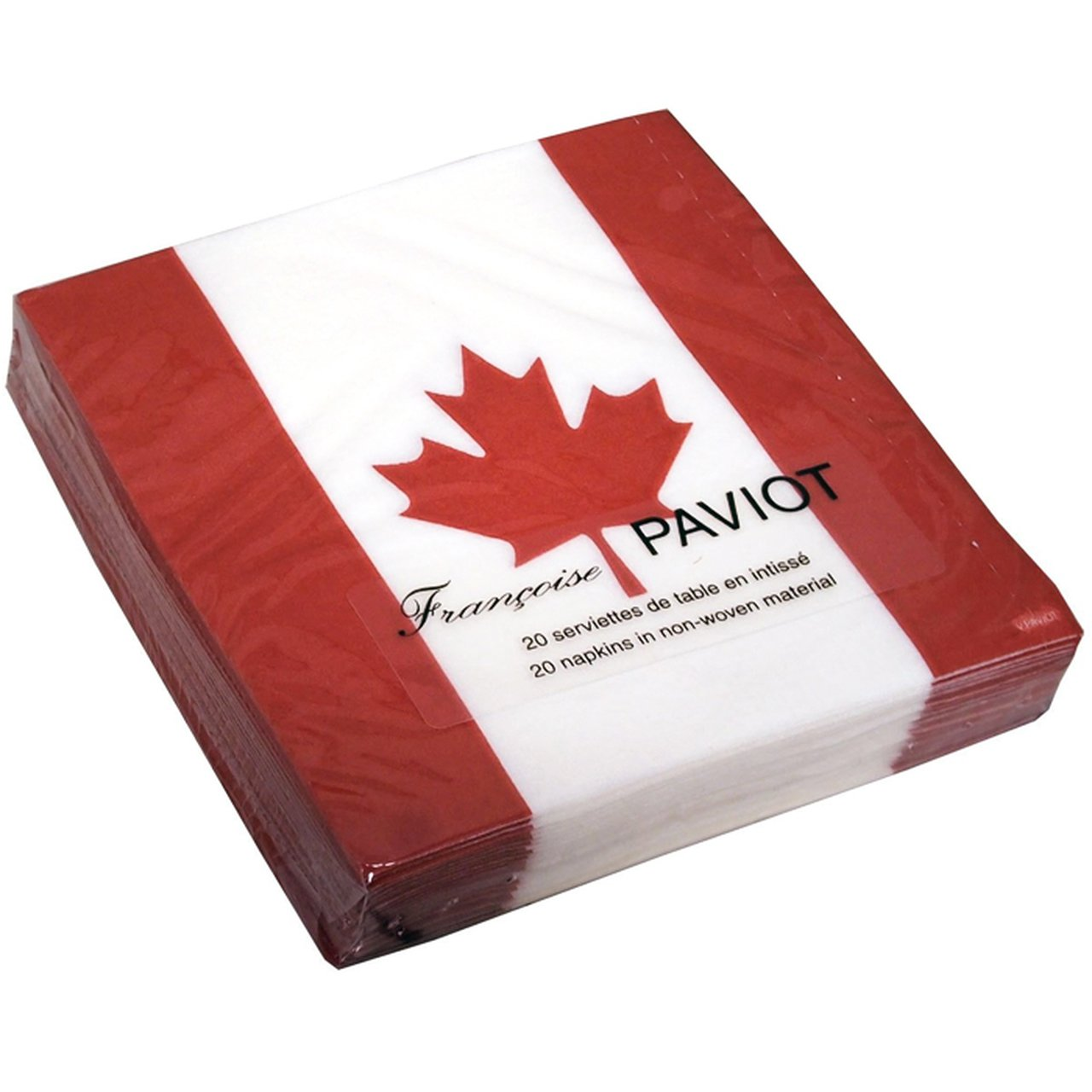 Francoise Paviot Maple Leaf Cocktail Napkins
