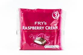 Fry's Raspberry Cream 3pk