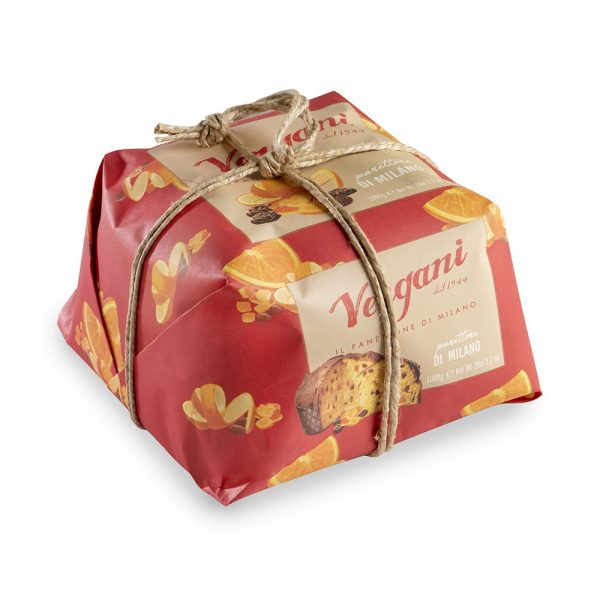 Vergani Traditional Panettone from Milan, 750g