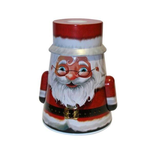 Grandma Wild's Santa Rocking Tin with English Biscuits