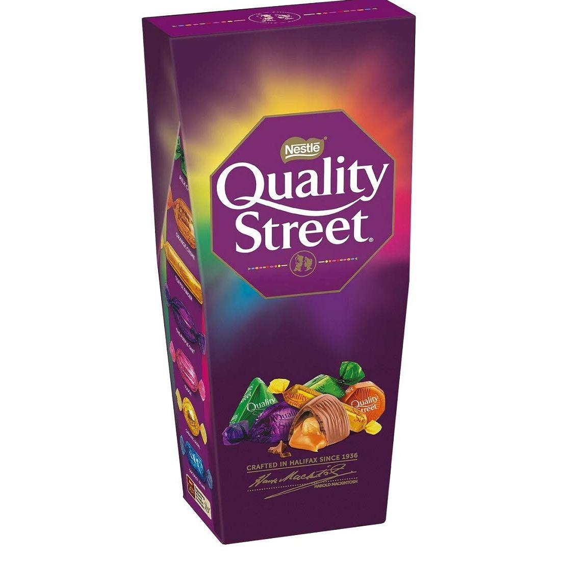 Nestlé UK Quality Street Chocolate & Toffee Carton 240g