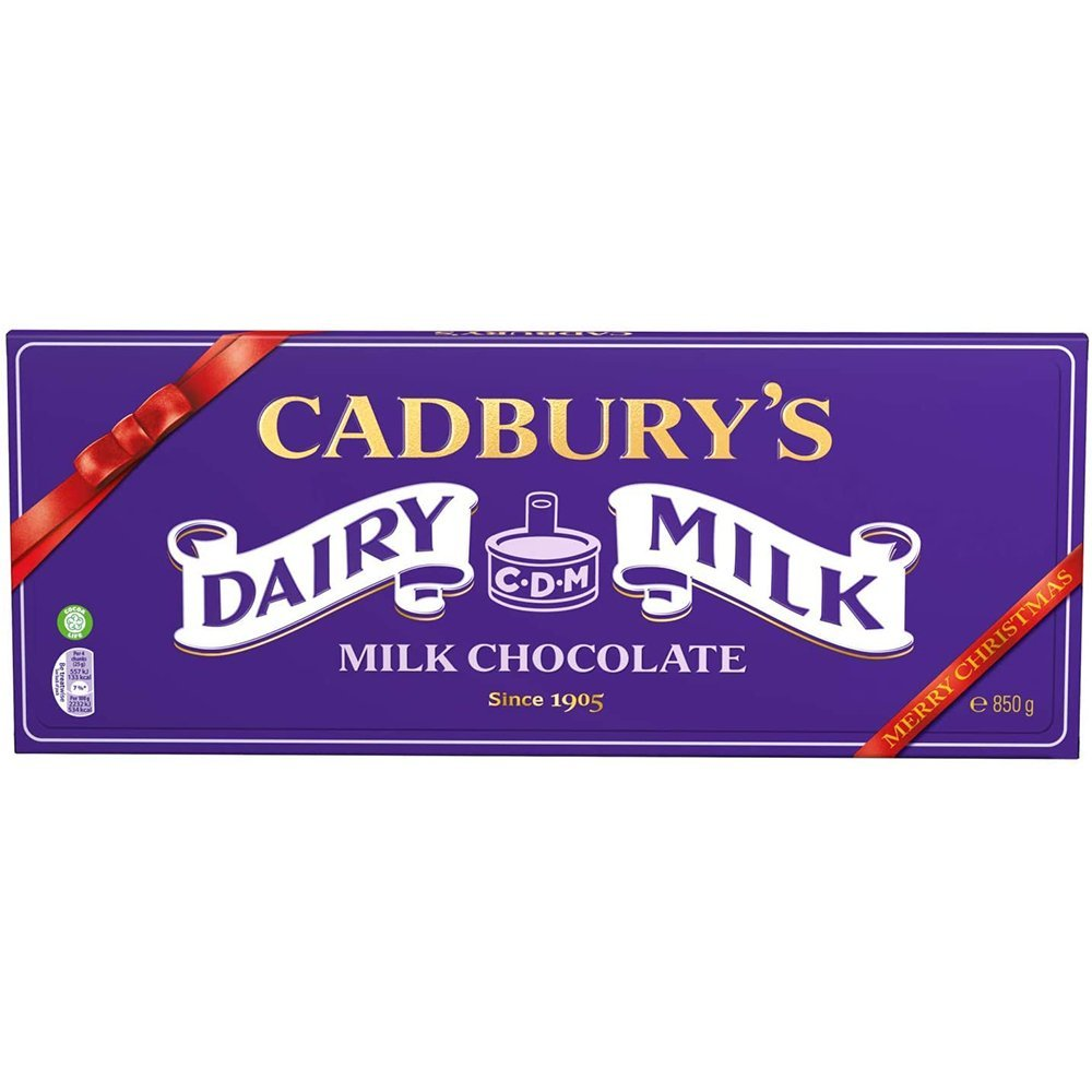 Cadbury Dairy Milk Giant Chocolate Bar 850g