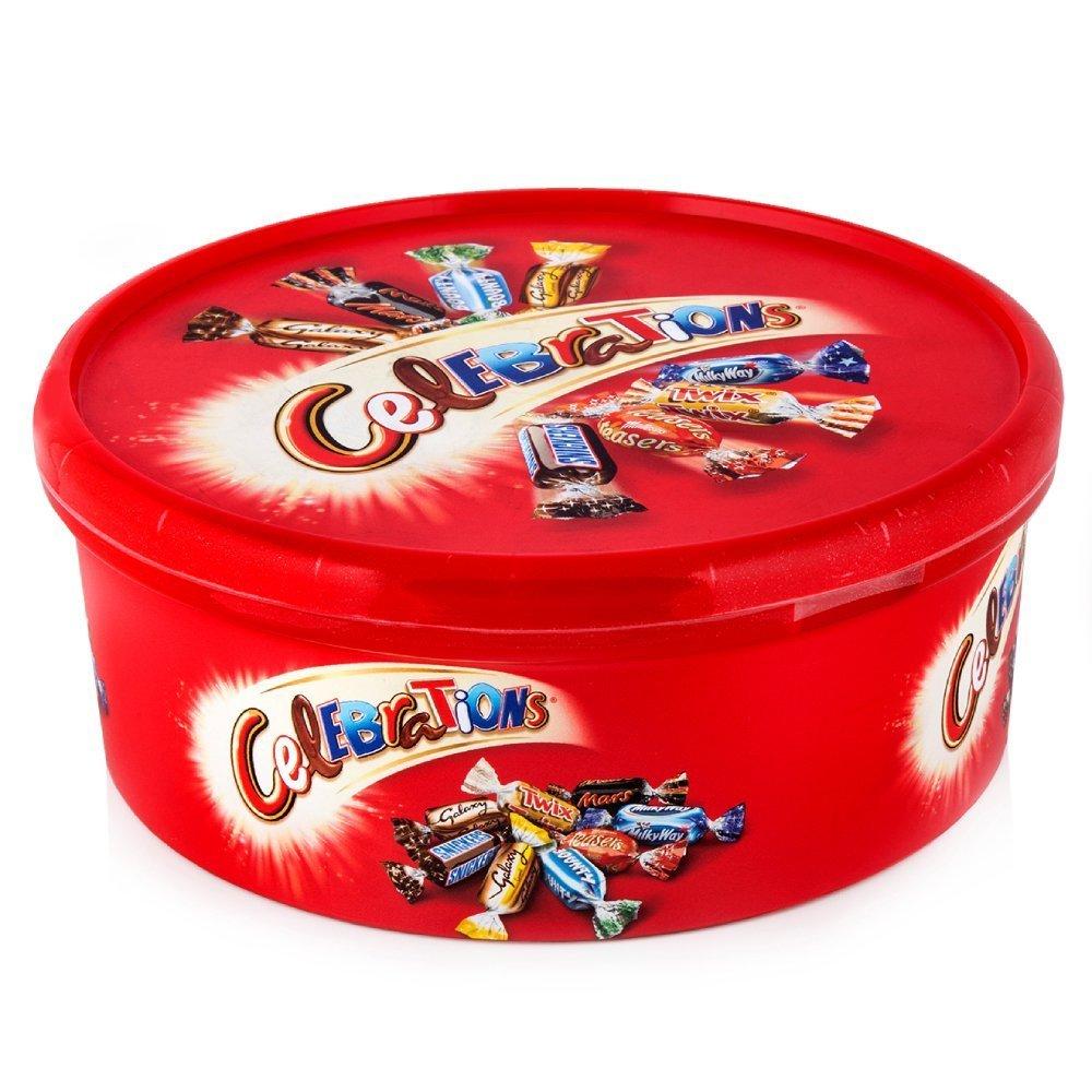 Mars UK Celebrations Assorted Chocolate Tub