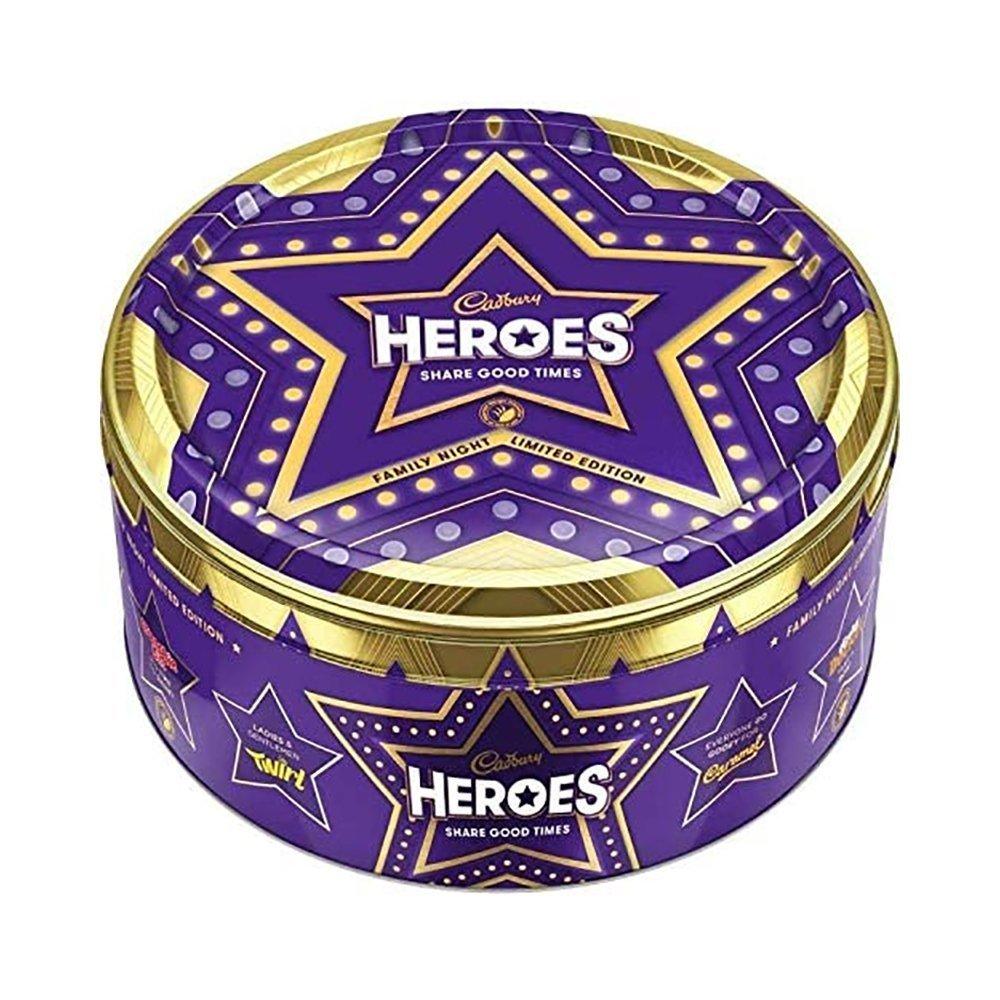 Cadbury UK Heroes Tin 800g Limited Edition