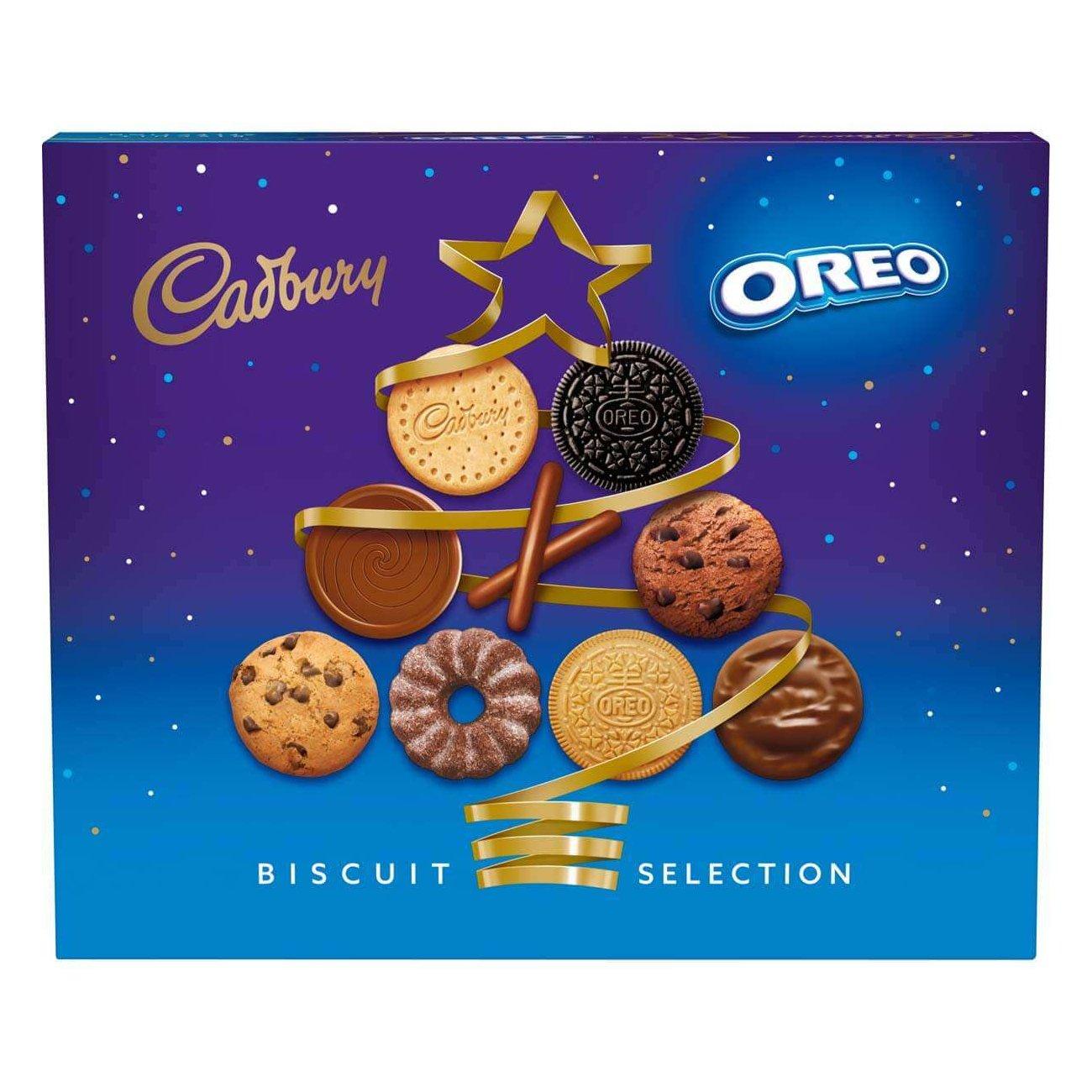 Cadbury & Oreo Biscuit Assortment Box 502g