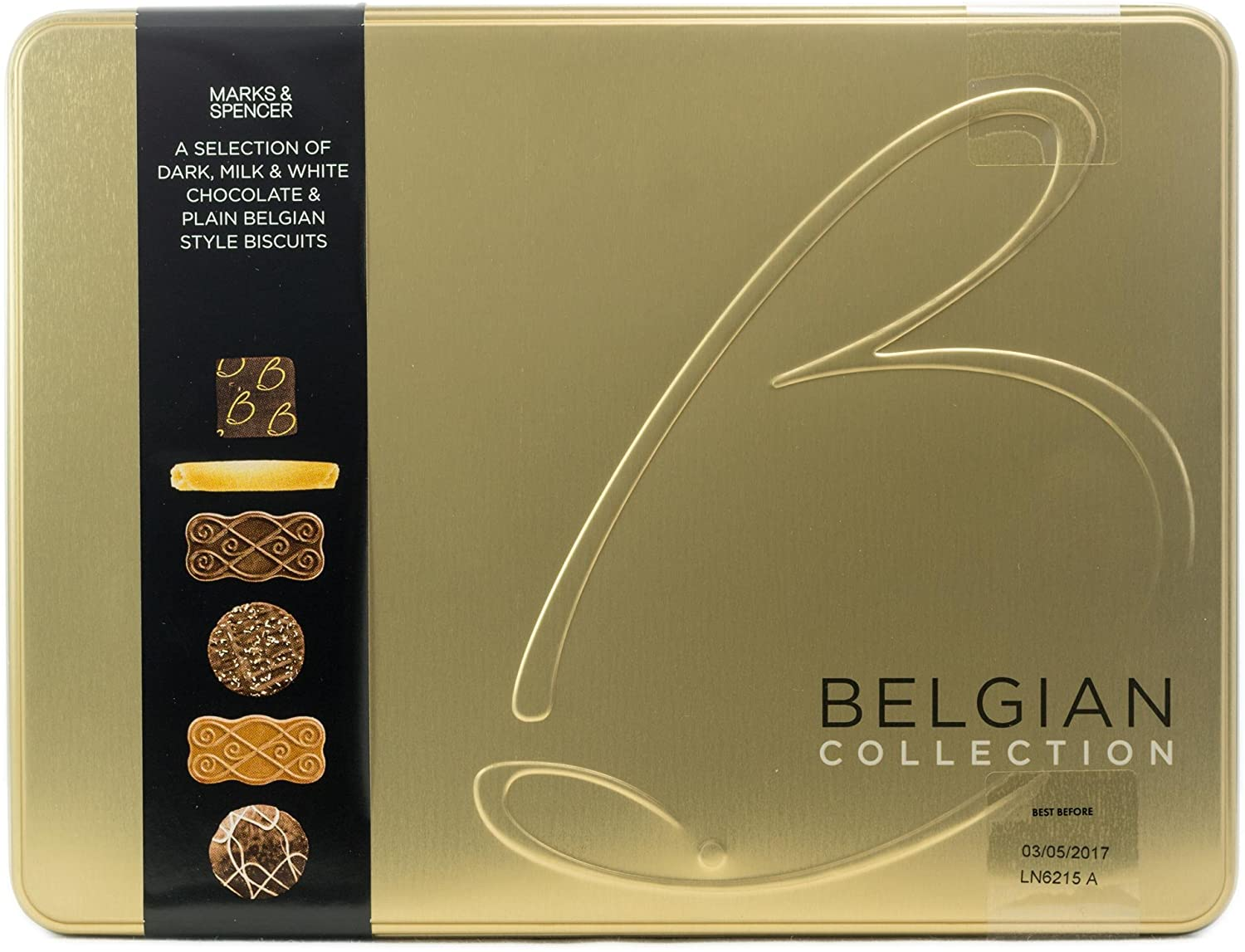 M&S Belgian Chocolate Biscuits
