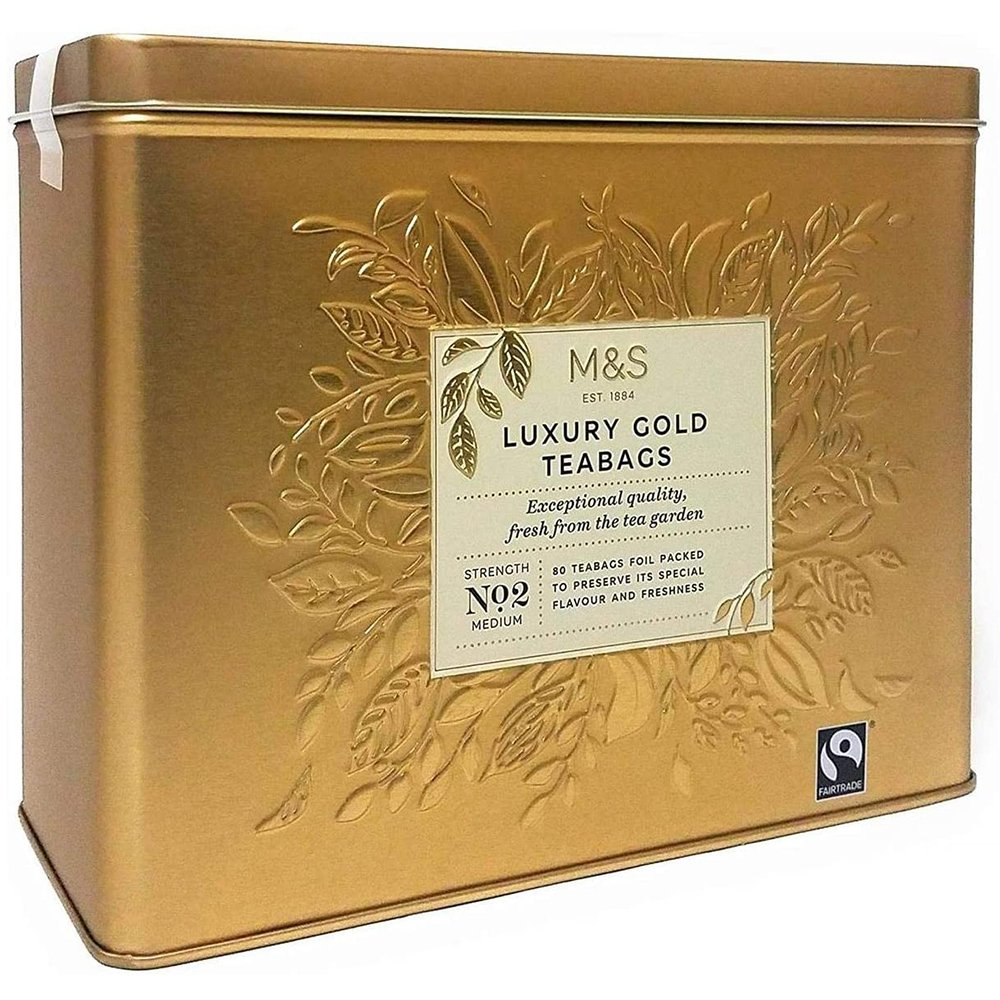 Marks and Spencer Luxury Gold tin