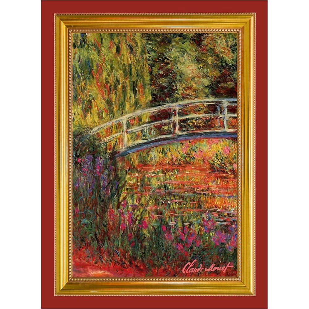 Tea Towel Claude Monet Bridge Pont