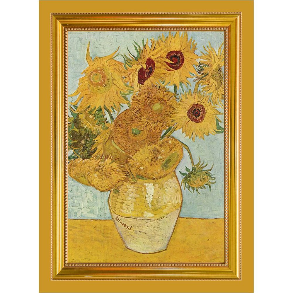 Tea Towel of Van Gogh's Sunflowers