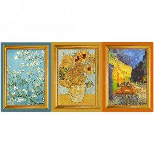 Set of 3 Tea Towels of Van Gogh's Paintings