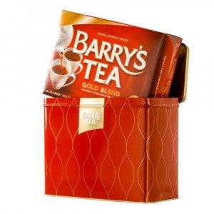 Barry's Tea Gold Blend Irish Tea (Tin Caddy)