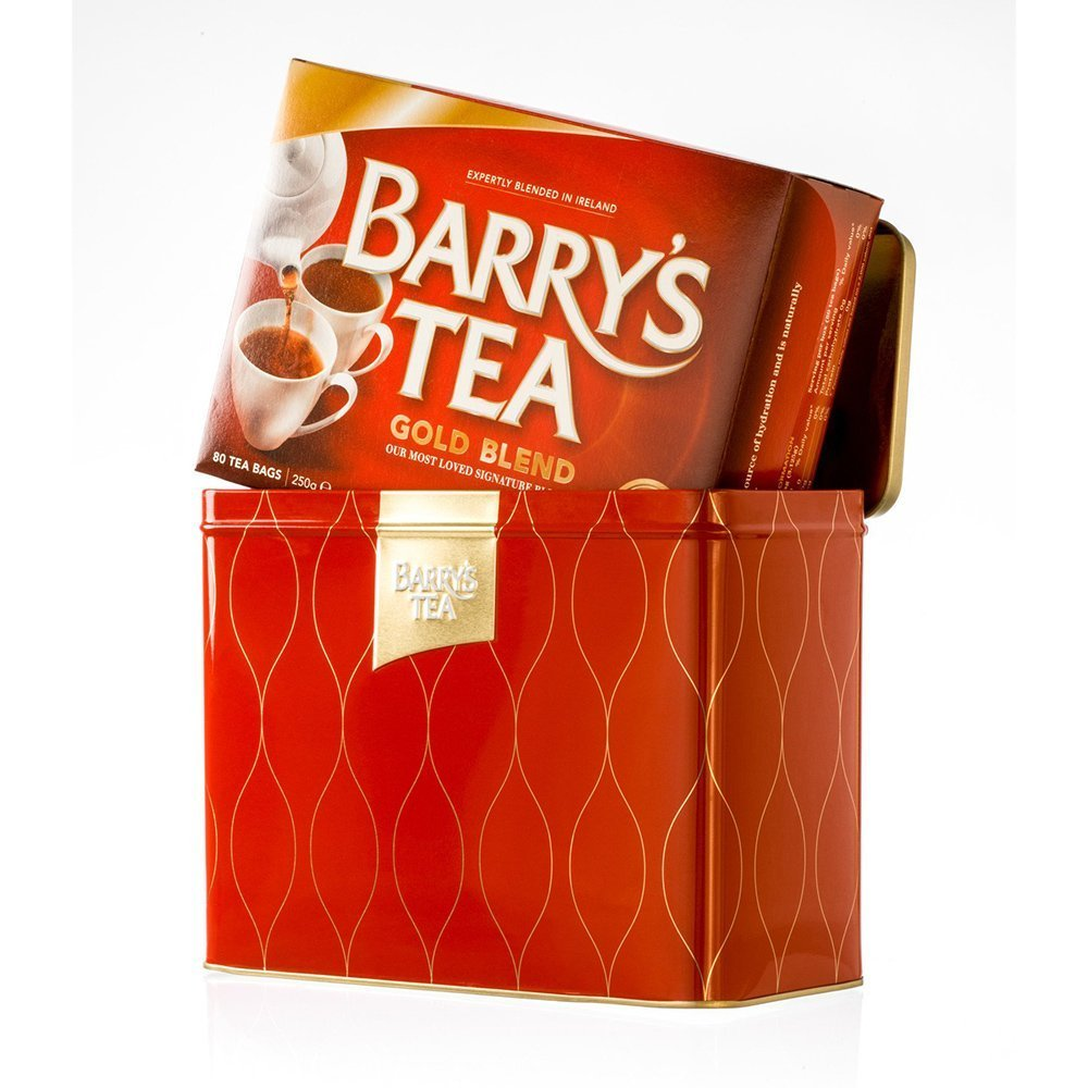 Barry's Gold Tea in Tin Caddy