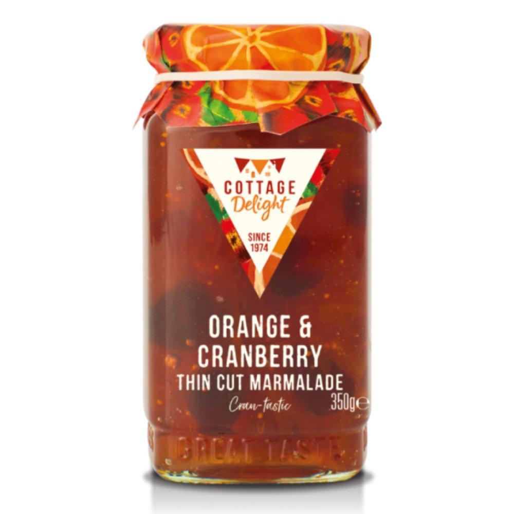 Cottage Delight Orange & Cranberry marmalade