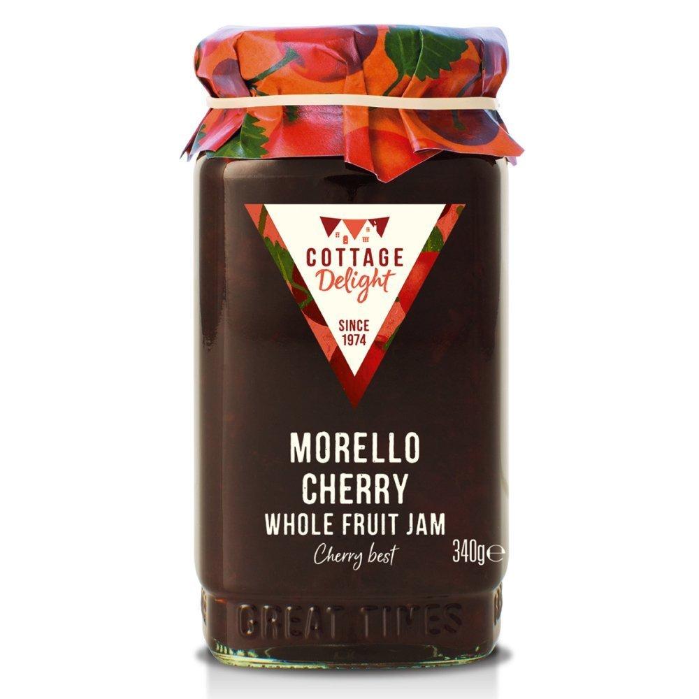 Cottage Delight Morello Cherry Extra Jam 340g