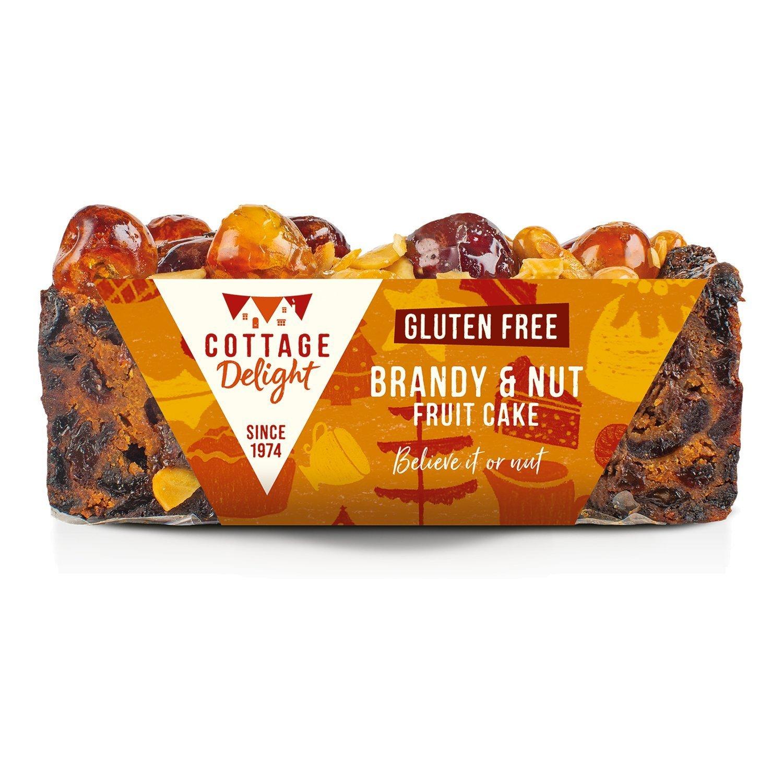 Cottage Delight Gluten Free Brandy & Nut Fruit Cake 400g