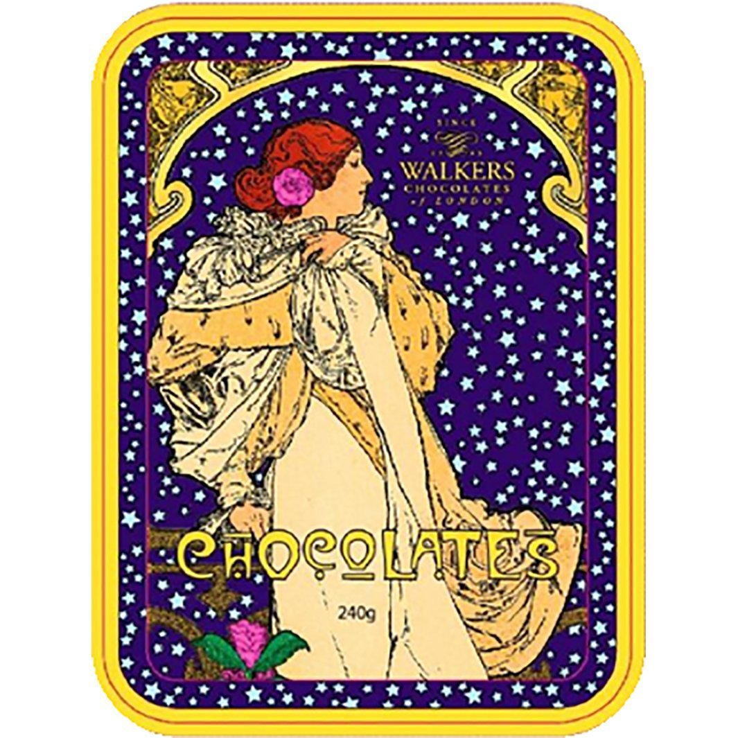 Walkers of London Mucha Job Truffles Tin 220g