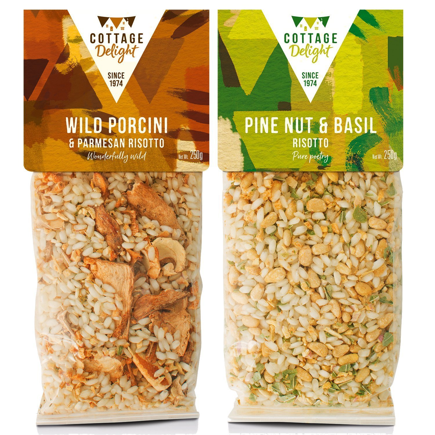 Cottage Delight Veggies Risotto Selection Assorted 250g (2 pack)