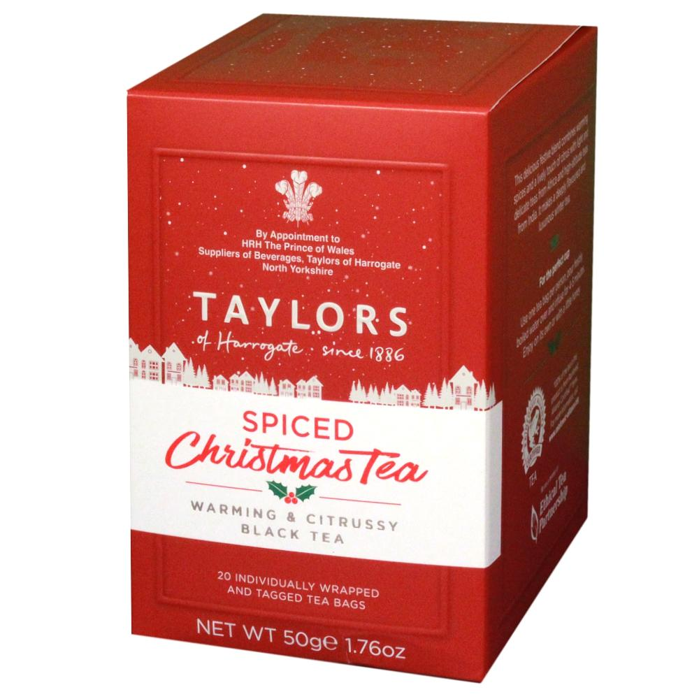Taylors of Harrogate Spiced Christmas Tea