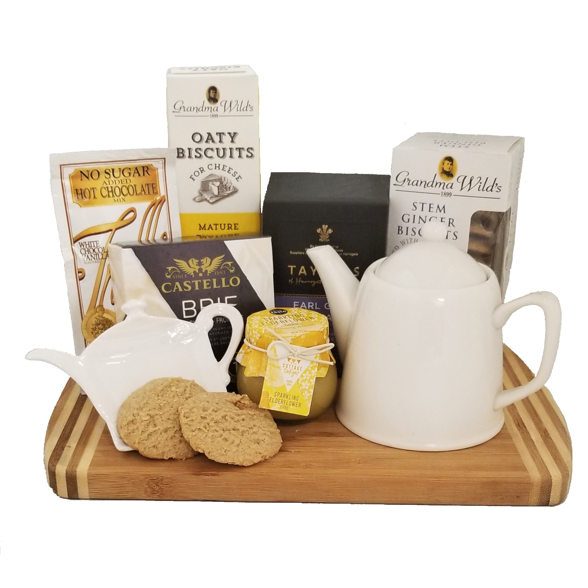 Morning Biscuits tea time gift basket