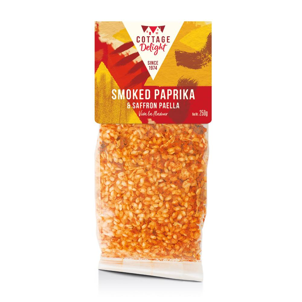 Cottage Delight Smoked Paprika & Saffron Paella 250g