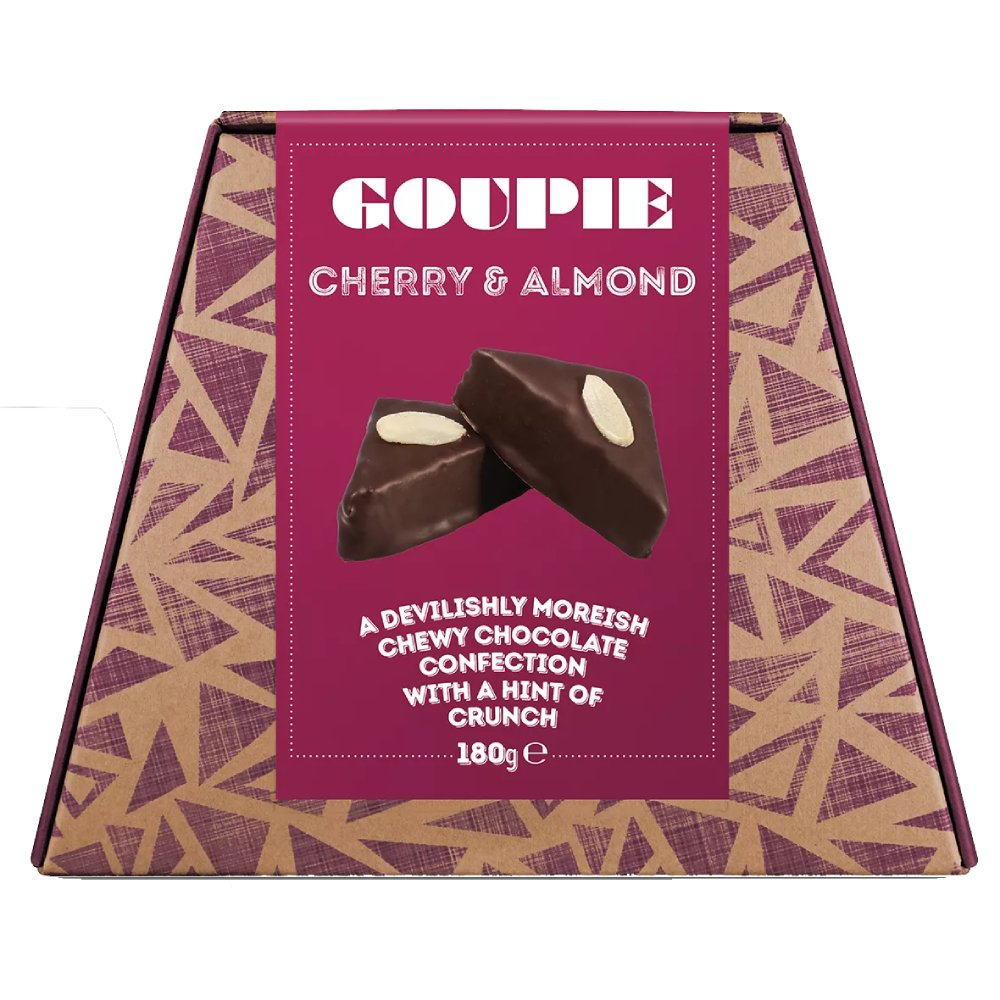 Goupie Cherry & Almond - Vegan, Dairy & Gluten Free 180g