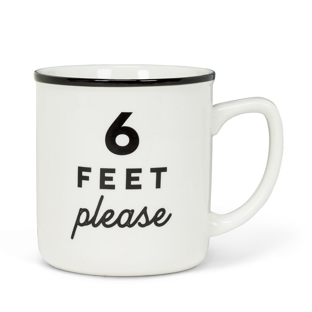6 Feet PleaseText Mug
