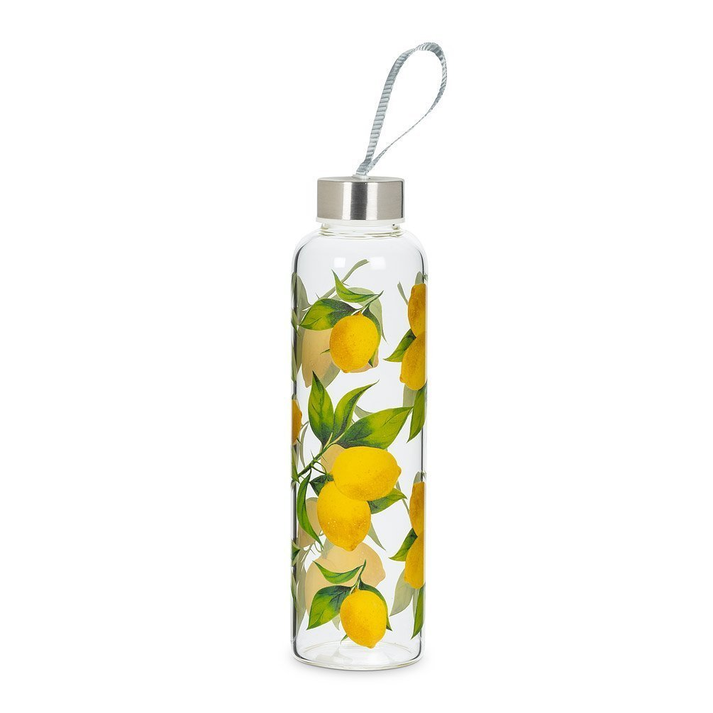 Lemon Tree Bottle with Strap & Cap