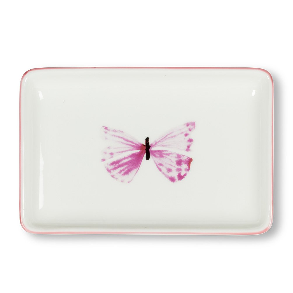 Butterfly Rectangle Tray