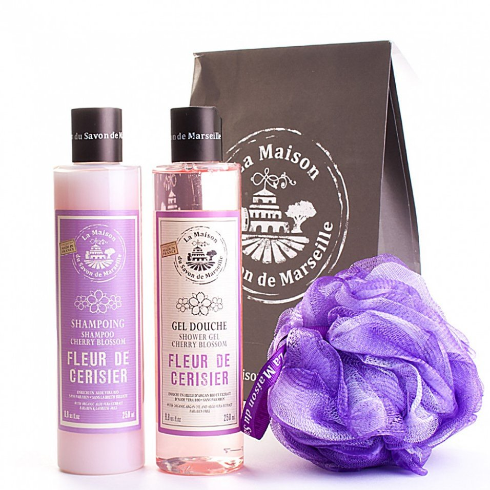 Cherry Blossom Shampoo and Shower Gel Gift Set