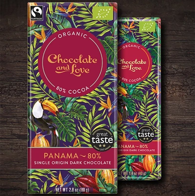 Panama Dark Chocolate Love