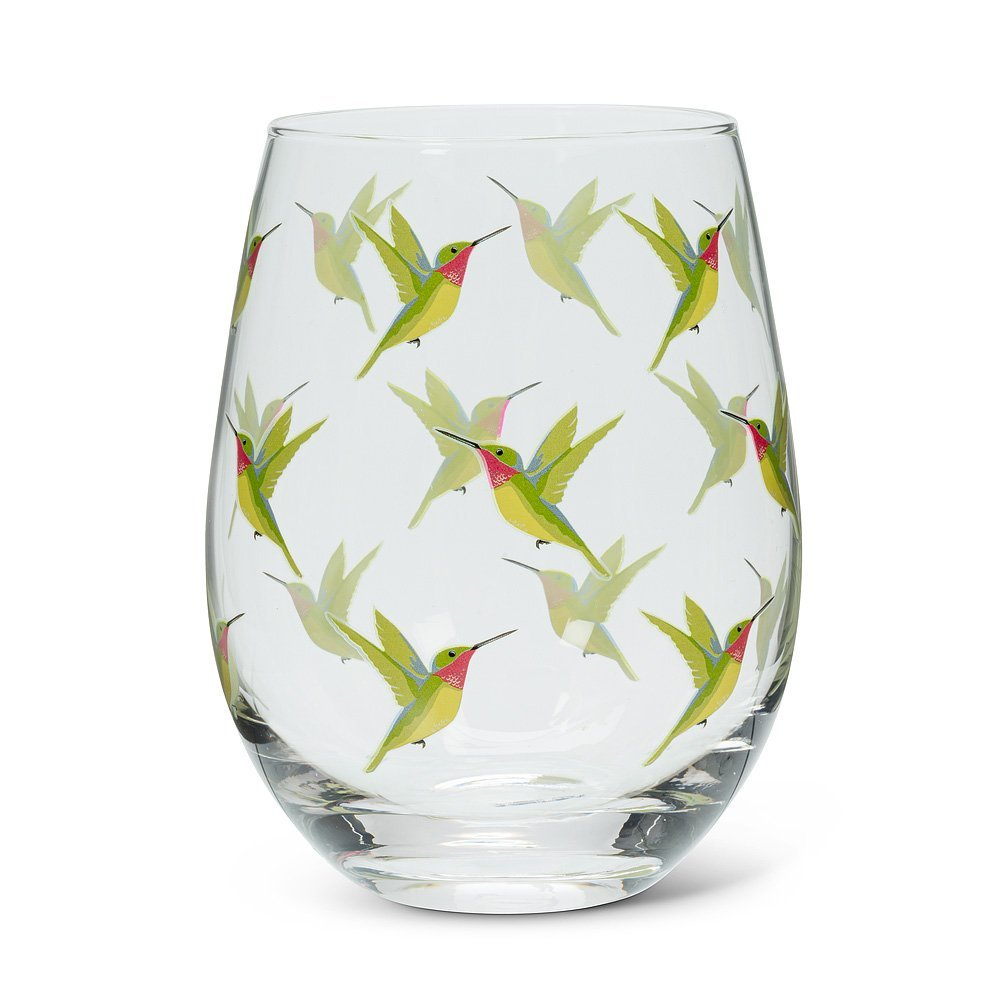 Hummingbird Stemless Goblet
