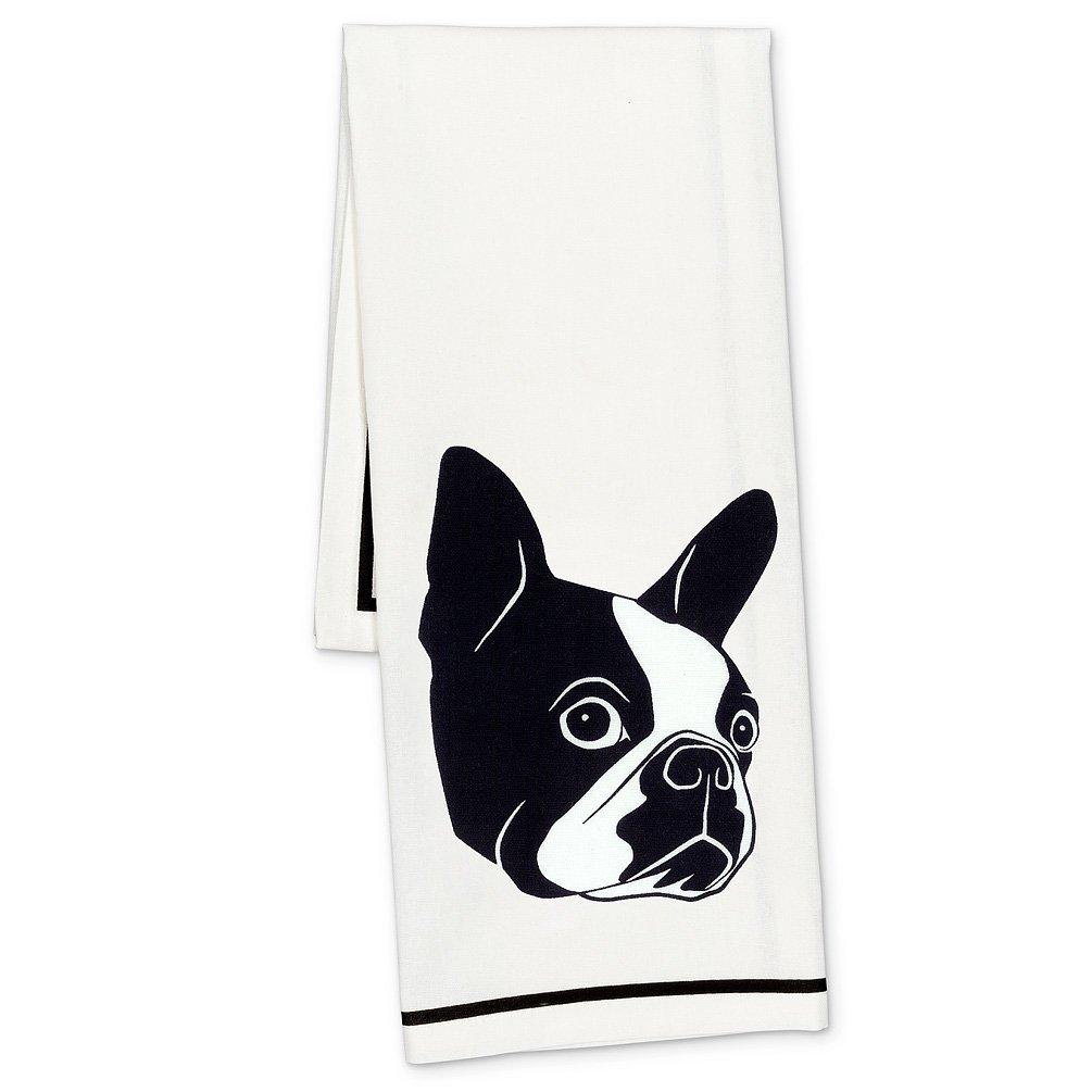 Dog Face Tea Towel