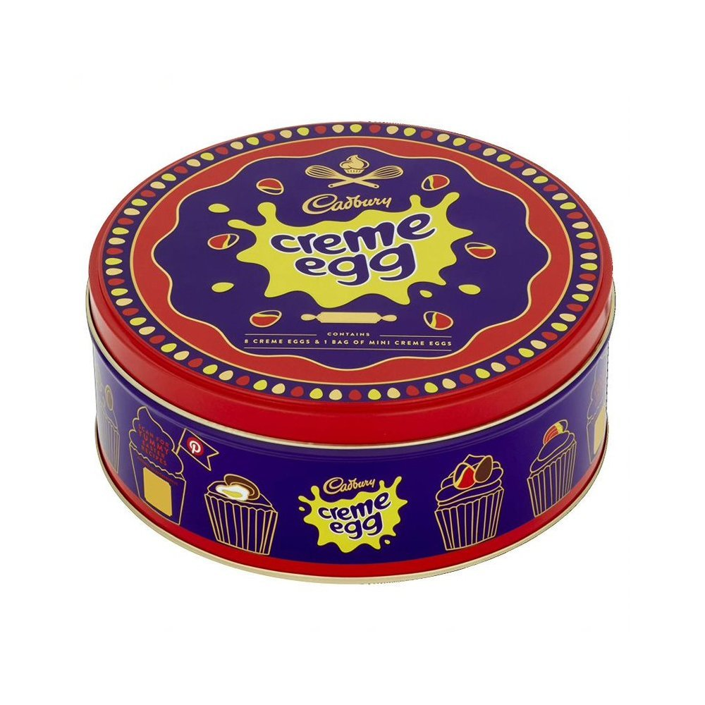 Cadbury UK Creme Egg Tin 409g