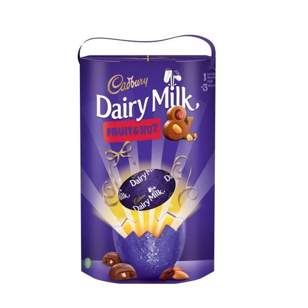 Cadbury UK Fruit & Nut Thoughtful Gesture Egg 302g