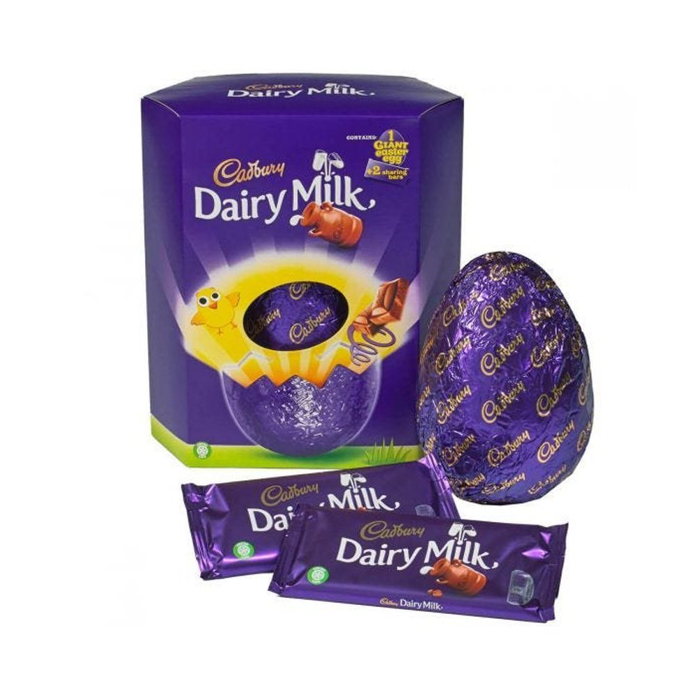 Cadbury Dairy Milk Giant Egg 515g