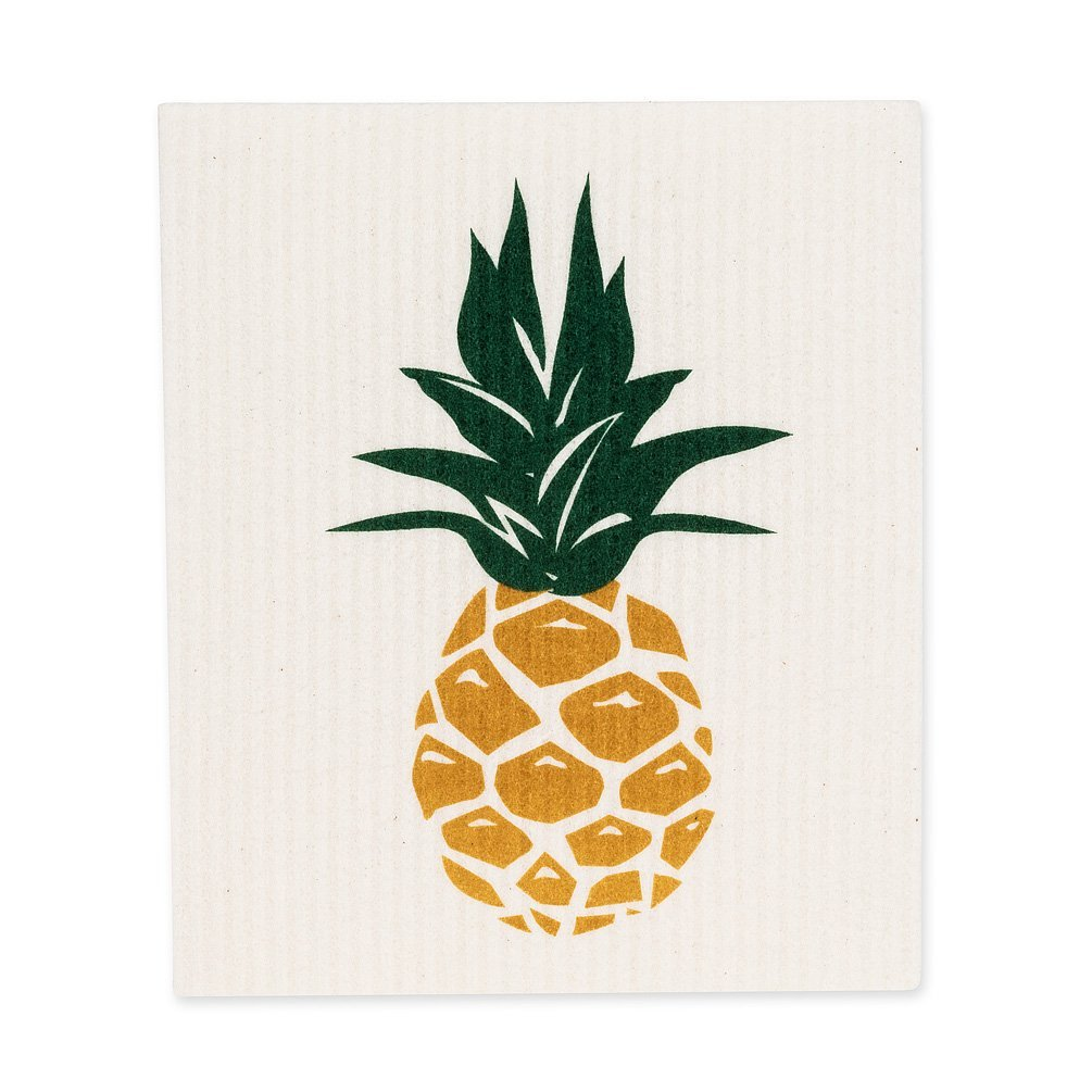 Pineapple Dishcloths. Set of 2