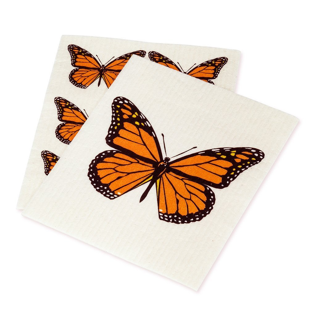 Monarch Butterfly Dishcloths