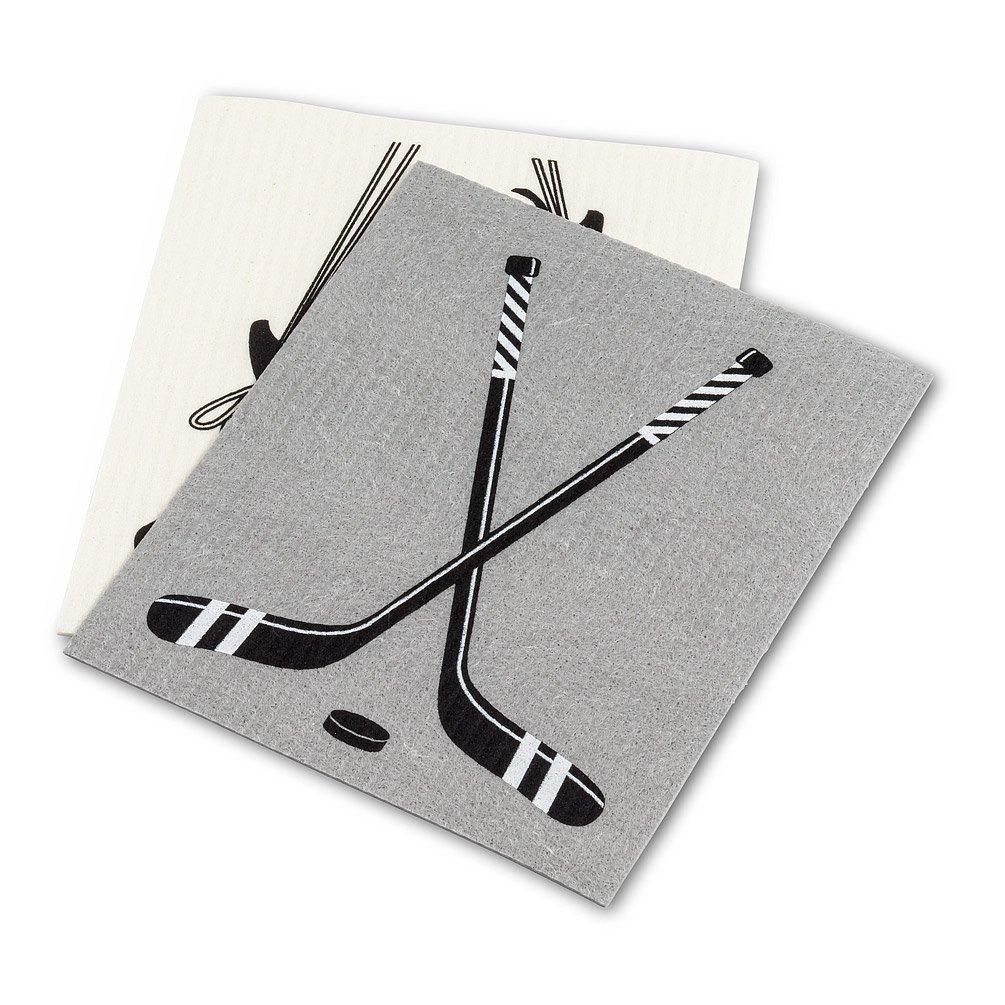 Hockey Skates & Stick Dishcloths