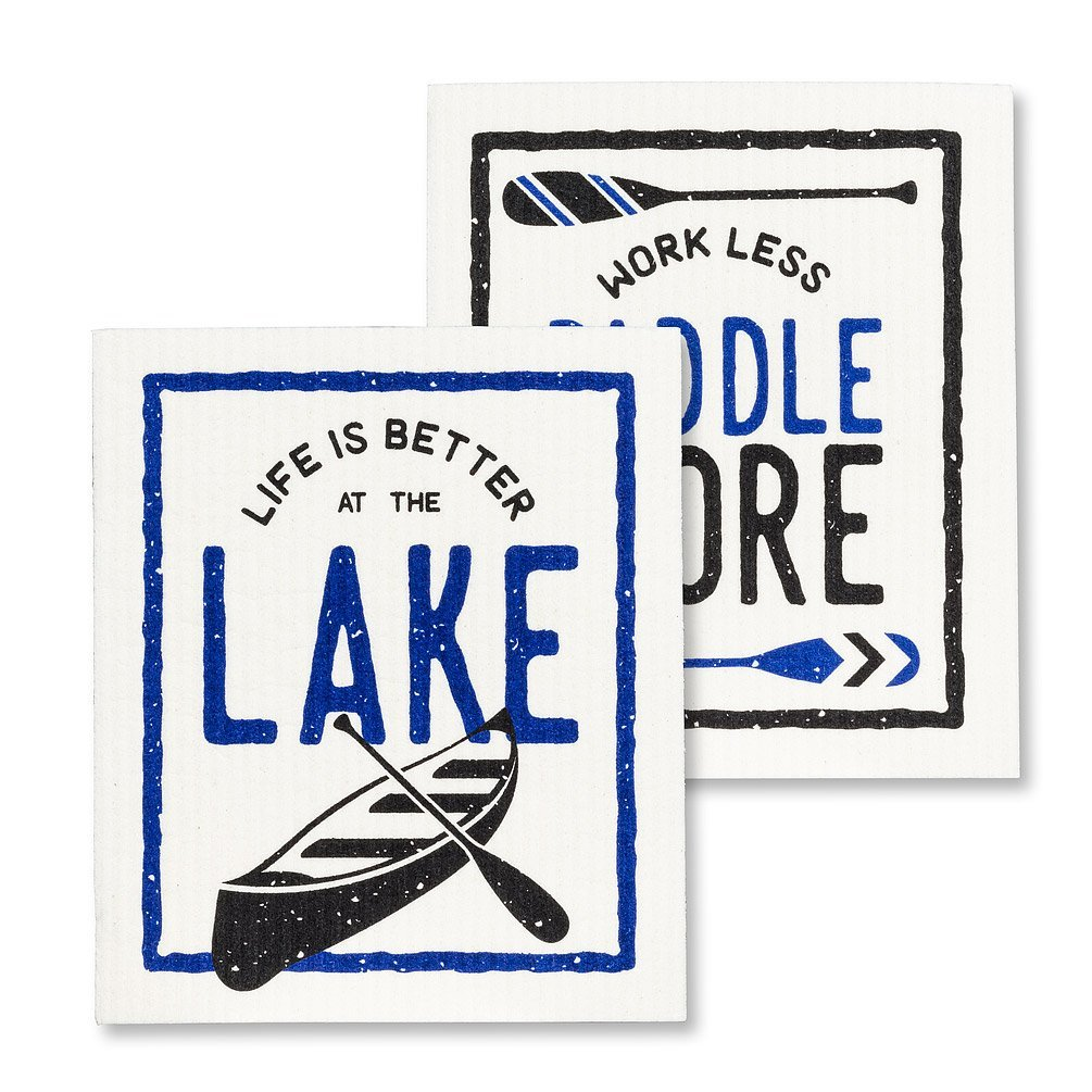 Better at the Lake Dishcloths
