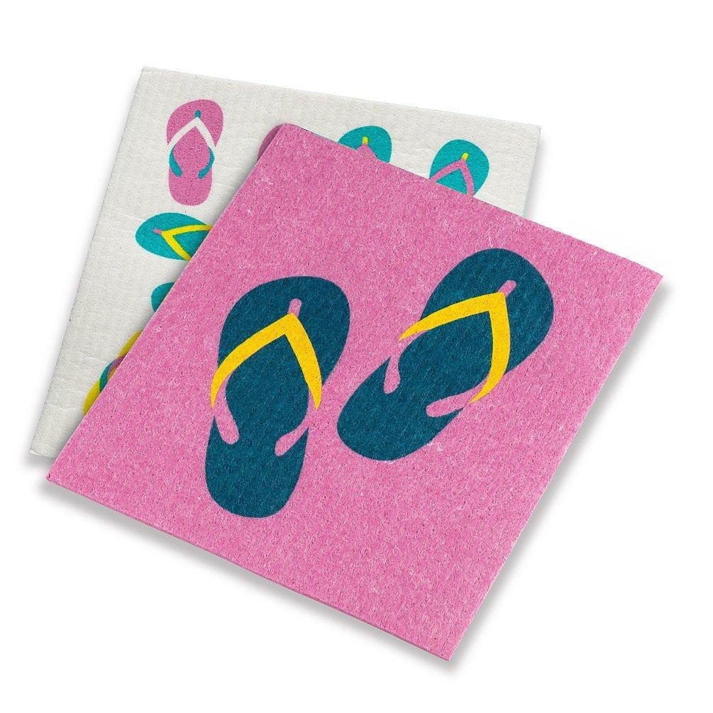 Flip Flops Dishcloths