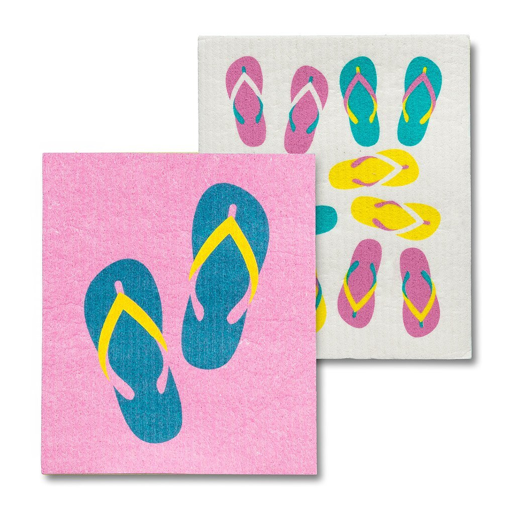 Flip Flops Dishcloths