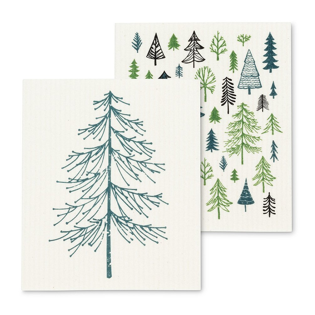 Trees Dishcloths