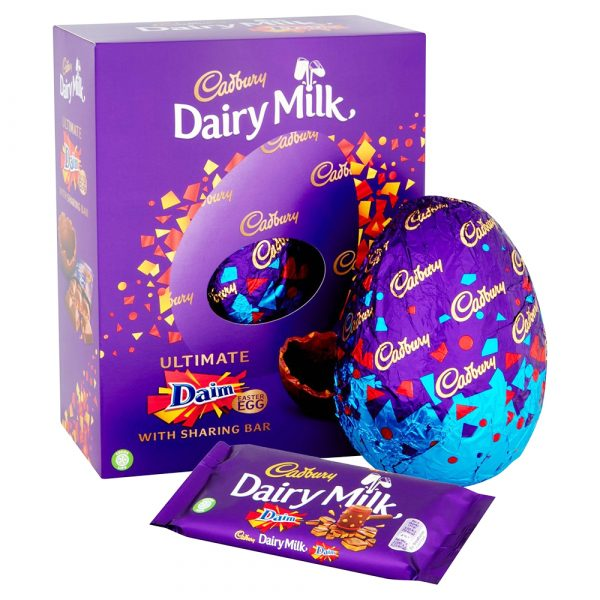 CADBURY UK ULTIMATE DAIM EGG (542g)