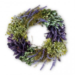 Lavender & Greenery Wreath