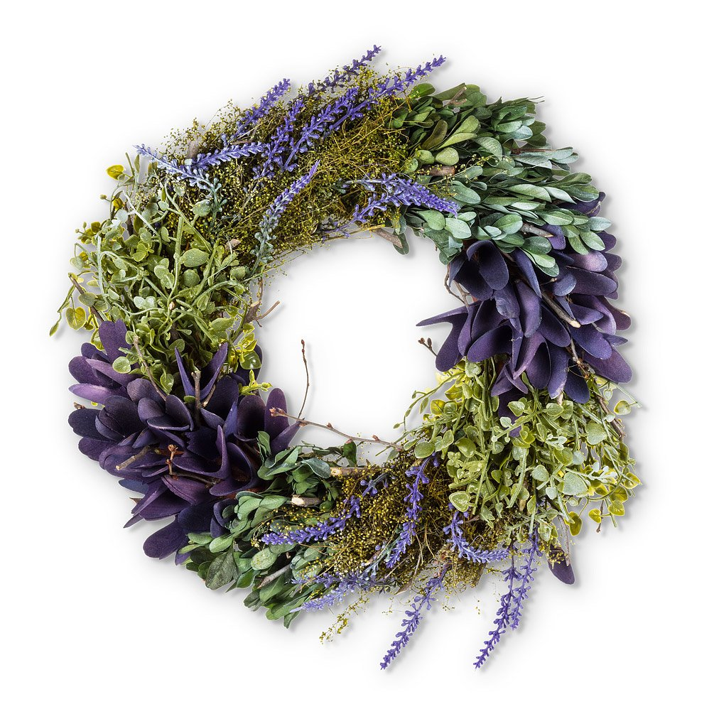 Lavender & Greenery Wreath