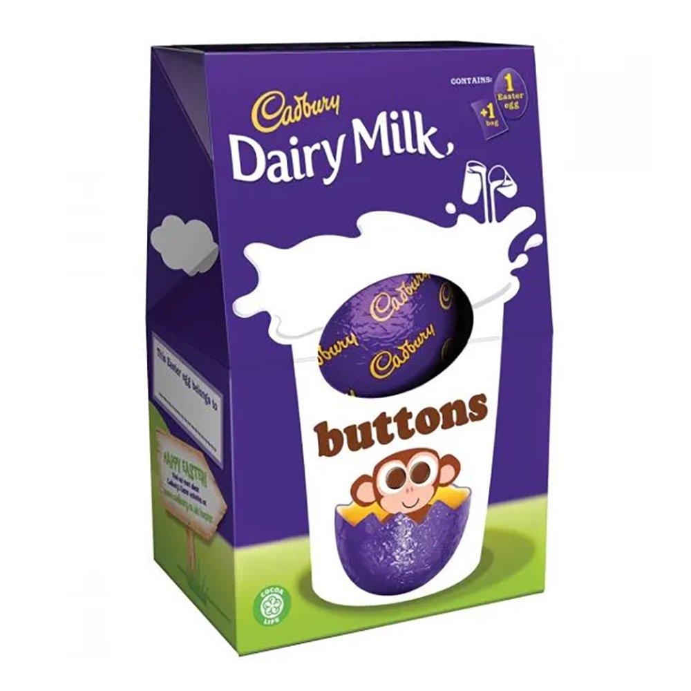 Cadbury UK buttons Eggs