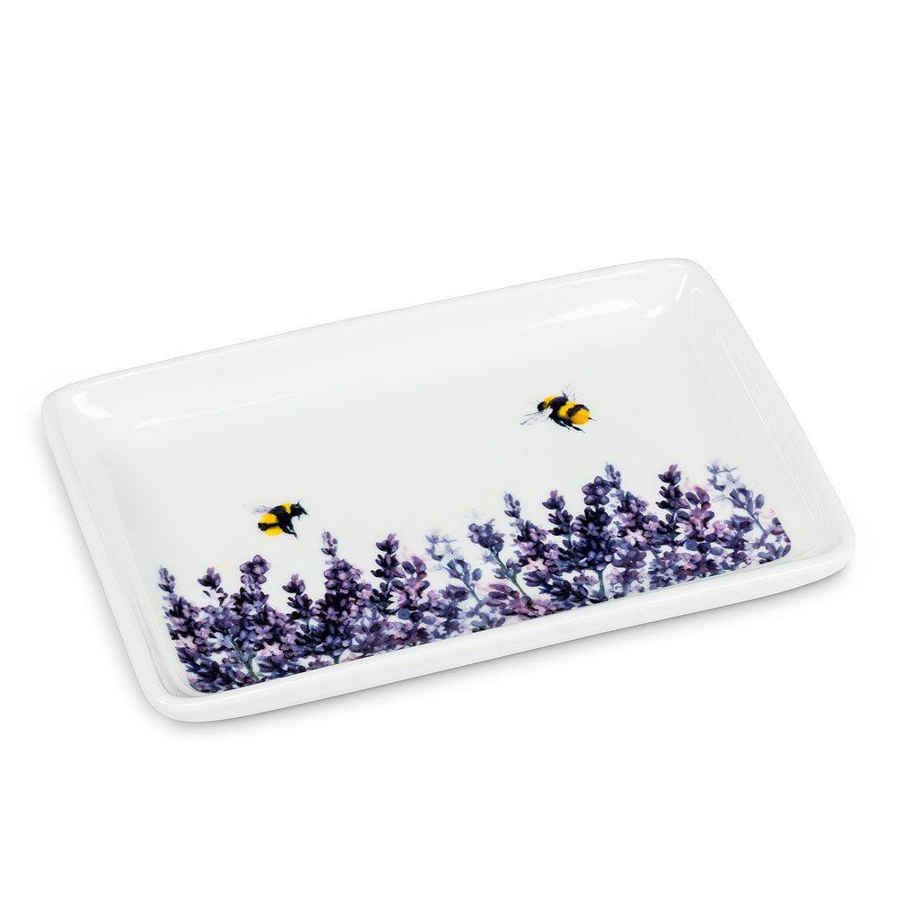 Lavender Rectangle Tray