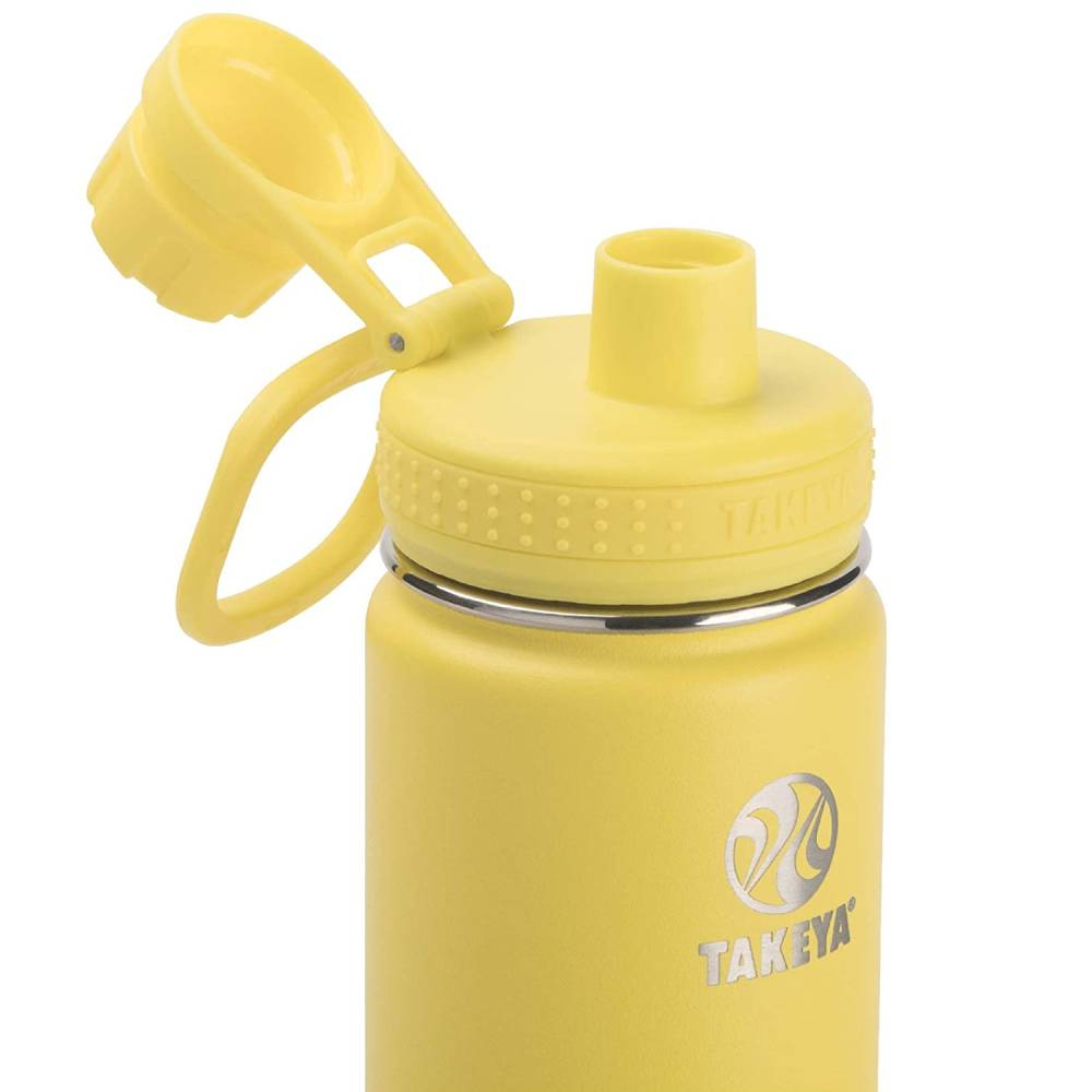 Takeya Flip Cap Yellow