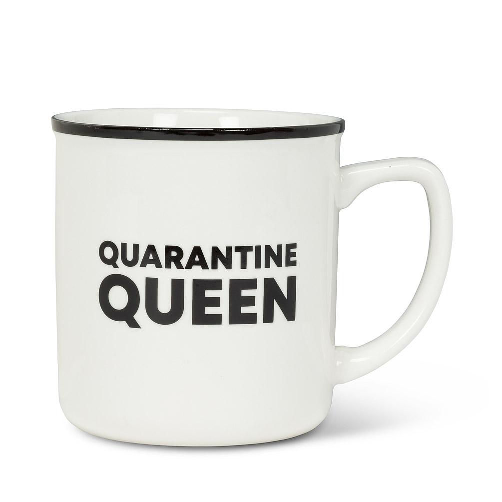 Quarantine Queen Text Mug